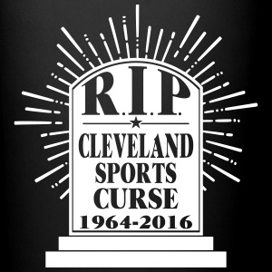 R I P Cleveland Curse Mugs & Drinkware - Full Color Mug