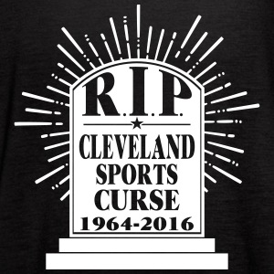 R I P Cleveland Curse Tanks - Women's Flowy Tank Top by Bella