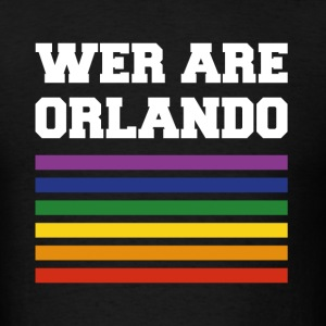 we are orlando - Men's T-Shirt