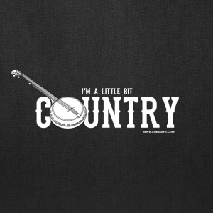 'I'm A Little Bit Country' - Tote Bag - Black  - Tote Bag