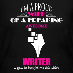 Writer Wife Shirt - Women's Long Sleeve Jersey T-Shirt