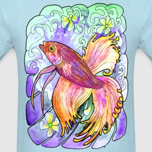 Betta Watercolor - Men's T-Shirt