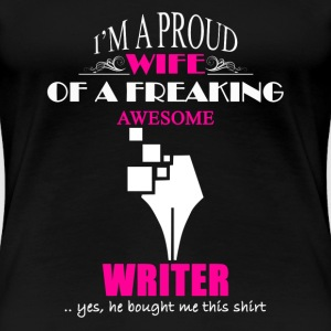 Writer Wife Shirt - Women's Premium T-Shirt