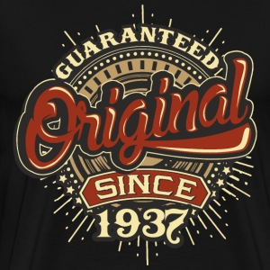 Birthday guaranteed since 1937 - Present T-Shirts - Men's Premium T-Shirt