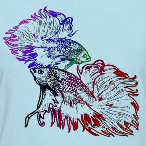 Betta Colorful - Women's T-Shirt