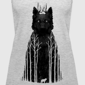 black forest wolf - Women's Premium Tank Top