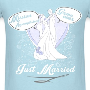 Marriage - Just married - Men's T-Shirt