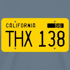 Retro 1956 California License Plate T-Shirt - Men's Premium T-Shirt