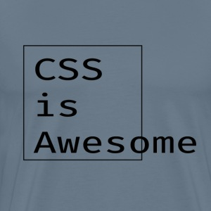 CSS = awesome - Men's Premium T-Shirt