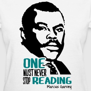 Never stop reading - Women's T-Shirt