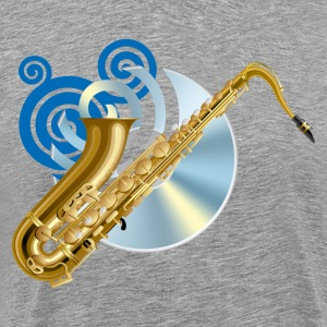 Fashion musical saxophone - Men's Premium T-Shirt
