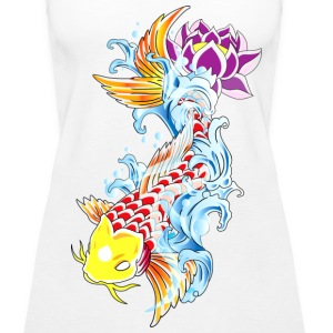 Carp Tattoo - Women's Premium Tank Top