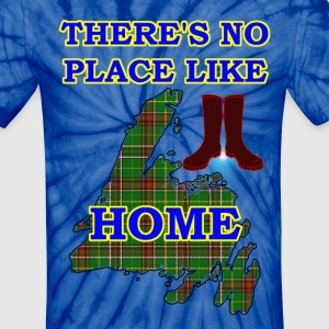 THERE'S NO PLACE LIKE HOME - Unisex Tie Dye T-Shirt