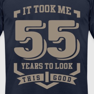 It Took Me 55 Years - Men's T-Shirt by American Apparel