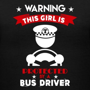 Protected By Bus Driver - Women's V-Neck T-Shirt