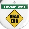 Anti-Trump Dead End - Small Buttons