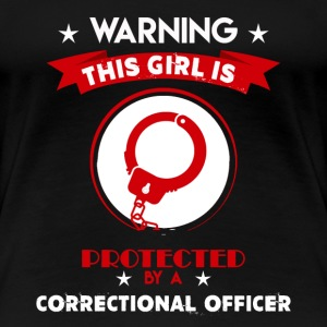 Protected By Correctional Officer - Women's Premium T-Shirt