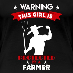 Protected By Farmer - Women's Premium T-Shirt