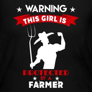 Protected By Farmer - Women's Long Sleeve Jersey T-Shirt