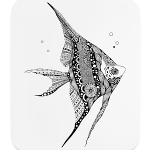 Angel Fish South South Tees Other - Mouse pad Vertical
