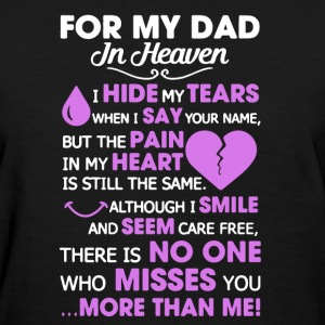 My Dad Shirt - Women's T-Shirt