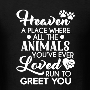 Heaven Animals Shirt - Men's T-Shirt