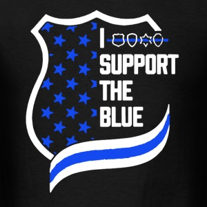 Support The Blue Shirt - Men's T-Shirt