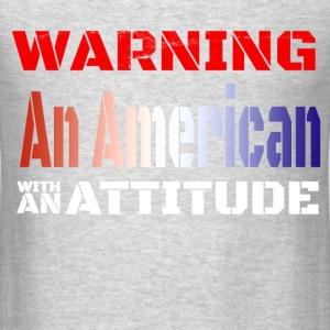 American with Attitude - Men's T-Shirt