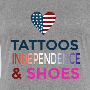 Tattoo's and Shoes - Women's Premium T-Shirt