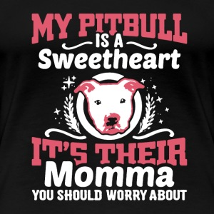 Pitbull Sweetheart Shirt - Women's Premium T-Shirt