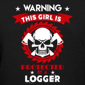 Protected By Logger - Women's T-Shirt