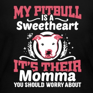 Pitbull Sweetheart Shirt - Women's Long Sleeve Jersey T-Shirt