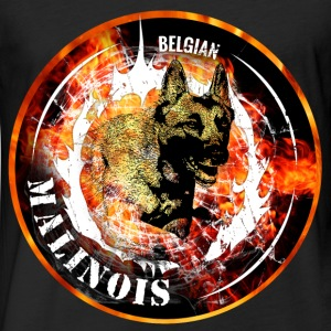 Belgian Malinois - Fitted Cotton/Poly T-Shirt by Next Level