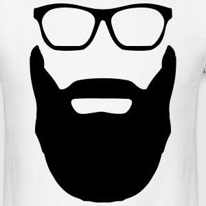 Beard and Glasses T-Shirts - Men's T-Shirt
