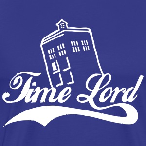 time lord T-Shirts - Men's Premium T-Shirt