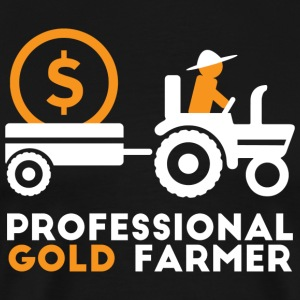 Professional gold farmer - Men's Premium T-Shirt