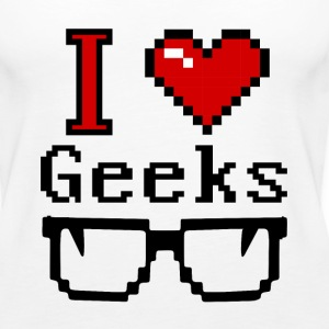 I heart Geeks Tanks - Women's Premium Tank Top