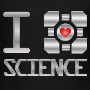 I heart Science Kids' Shirts - Kids' Premium T-Shirt