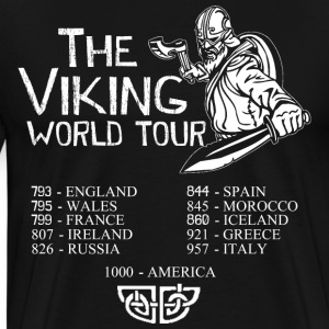 THE VIKING WORLD TOUR T-Shirts - Men's Premium T-Shirt