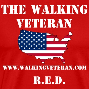 The Walking Veteran - Men's Premium T-Shirt