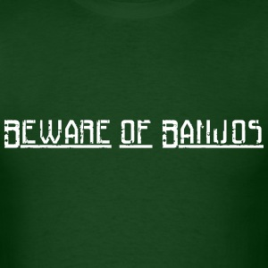 Beware of Banjos - Men's T-Shirt