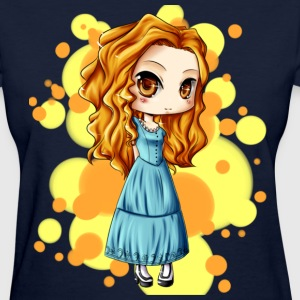 little girl - Women's T-Shirt