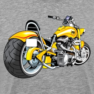 Heavy motorbike design T-Shirts - Men's Premium T-Shirt