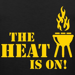 The Heat Is On! (Barbecue / BBQ) Sportswear - Men's Premium Tank