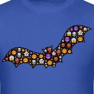 bat emoticon - Men's T-Shirt