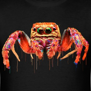 spider face colorful - Men's T-Shirt