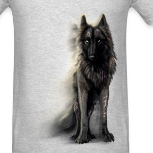 black wolf - Men's T-Shirt