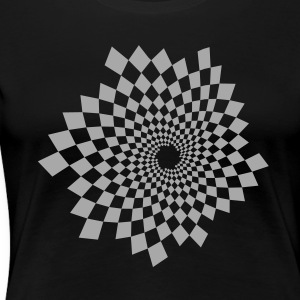 Optical Illusion 14A Women's T-Shirts - Women's Premium T-Shirt