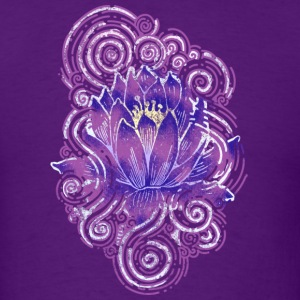 Lotus flower Abstract - Men's T-Shirt