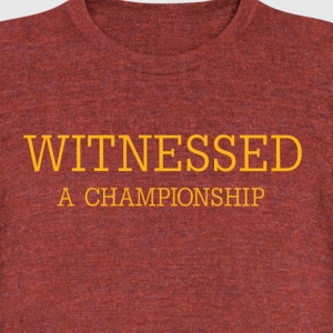 Witnessed T-Shirts - Unisex Tri-Blend T-Shirt by American Apparel
